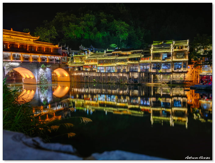 Foto nocturna con movil HuaweiP10 de Fenghuang